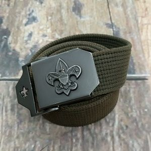 30692be3635 BSA Boy Scouts of America Web Belt and Buckle